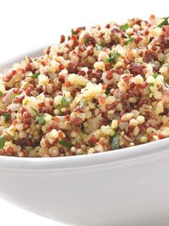 Bowl of Quinoa Pilaf (Gluten Free) featuring Minor's products