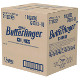 Nestlé Butterfinger Chunks 1 x 25 pounds Package
